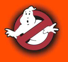 Original Ghostbusters Halftone Logo (in colour) Kids Tee