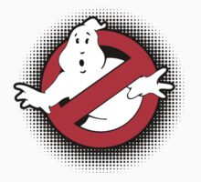 Original Ghostbusters Halftone Logo (in colour) Baby Tee