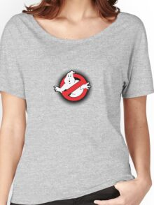 Original Ghostbusters Halftone Logo (in colour) Women's Relaxed Fit T-Shirt