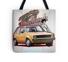 Comeback 70s - Oldtimer Car Tote Bag