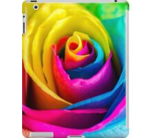 Rainbow Rose iPad Case/Skin