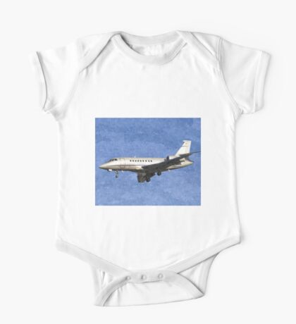 Dassault Falcon 2000 Jet Art One Piece - Short Sleeve