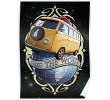 Cross the World - Bus T1 Poster
