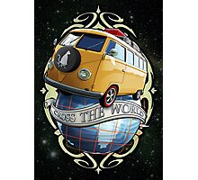 Cross the World - Bus T1 Photographic Print