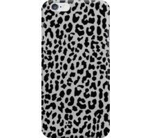 Neon Gray Leopard iPhone Case/Skin