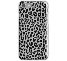 Neon Gray Leopard iPhone Case/Skin