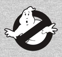 Original Ghostbusters Logo (in black and white) One Piece - Long Sleeve