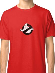 Original Ghostbusters Logo (in black and white) Classic T-Shirt