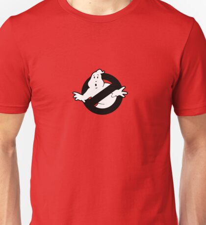 Original Ghostbusters Logo (in black and white) Unisex T-Shirt