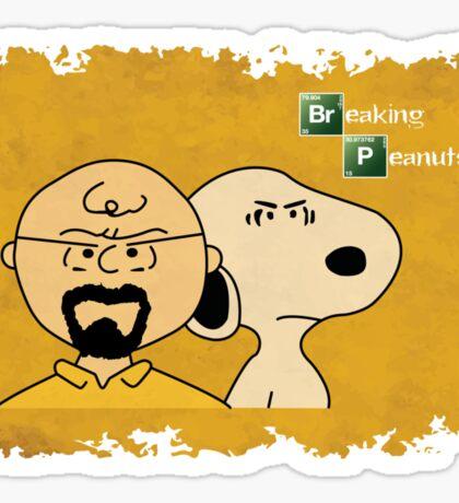 Breaking Bad Peanuts Sticker