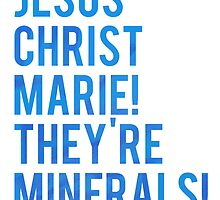 Jesus Christ Marie! They're minerals! by nimbusnought