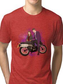 Chin Boy & Souffle Girl Tri-blend T-Shirt