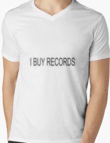 I BUY RECORDS Mens V-Neck T-Shirt