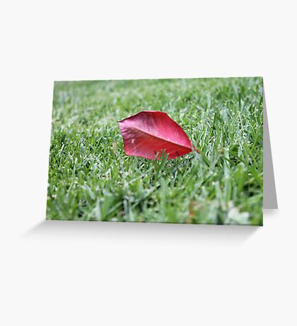 Broken Blades Greeting Card