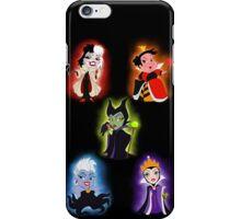 Pretty Lil' Villains iPhone Case/Skin