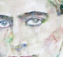 FRANZ KAFKA - watercolor portrait.6 Sticker
