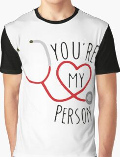 Grey's Anatomy - You're My Person Graphic T-Shirt