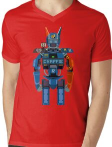 Chappie vector character fanart Mens V-Neck T-Shirt