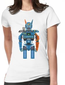 Chappie vector character fanart Womens Fitted T-Shirt
