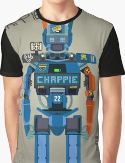 Chappie vector character fanart Graphic T-Shirt