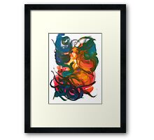 Nonexistence and the Life Force of Enlightenment Framed Print