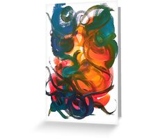 Nonexistence and the Life Force of Enlightenment Greeting Card