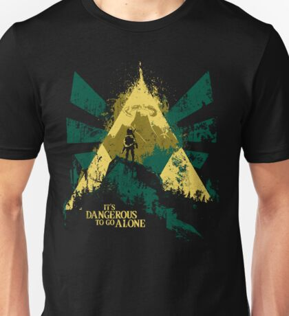 It's Dangerous To Go Alone Unisex T-Shirt