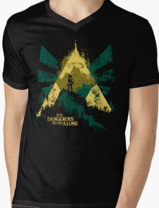It's Dangerous To Go Alone Mens V-Neck T-Shirt