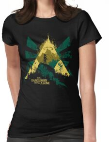 It's Dangerous To Go Alone Womens Fitted T-Shirt
