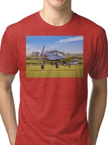 """""""Marinell"""", the autographed Mustang Tri-blend T-Shirt"""