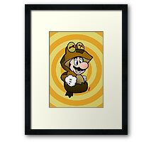 ALL GLORY TO THE MARIO BROS! Framed Print