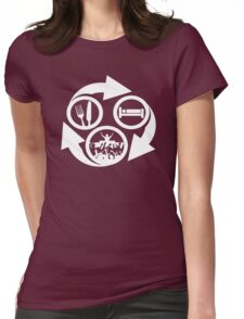 BLAHBLOOM Womens Fitted T-Shirt