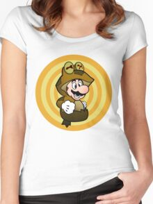 ALL GLORY TO THE MARIO BROS! Women's Fitted Scoop T-Shirt