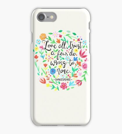 Love All iPhone Case/Skin