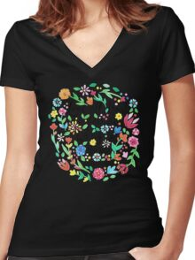 Love All Women's Fitted V-Neck T-Shirt