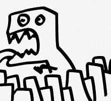 Dino Terror by Preston Stegall
