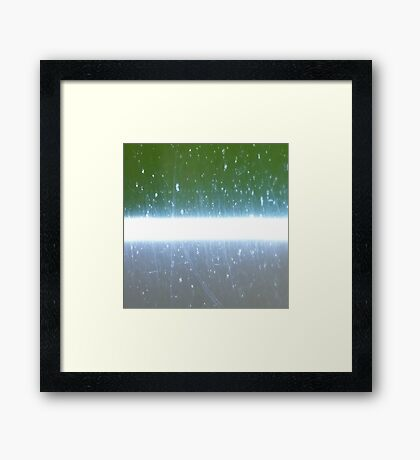 Sabre gry-grn 1 Framed Print