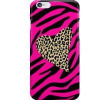 Leopard Zebra Love iPhone Case/Skin