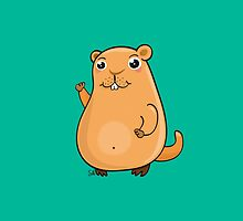 GroundHog Kawaii by Silvia Neto