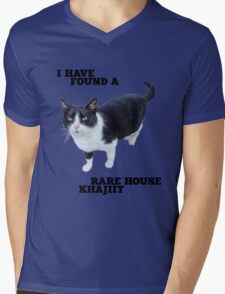 Rare House Khajiit Mens V-Neck T-Shirt