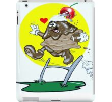 FOOTBALL CARTOON IPAD COVER iPad Case/Skin