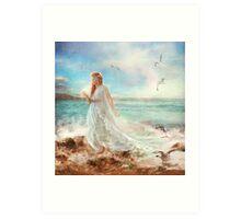 Maiden of Seafoam Art Print
