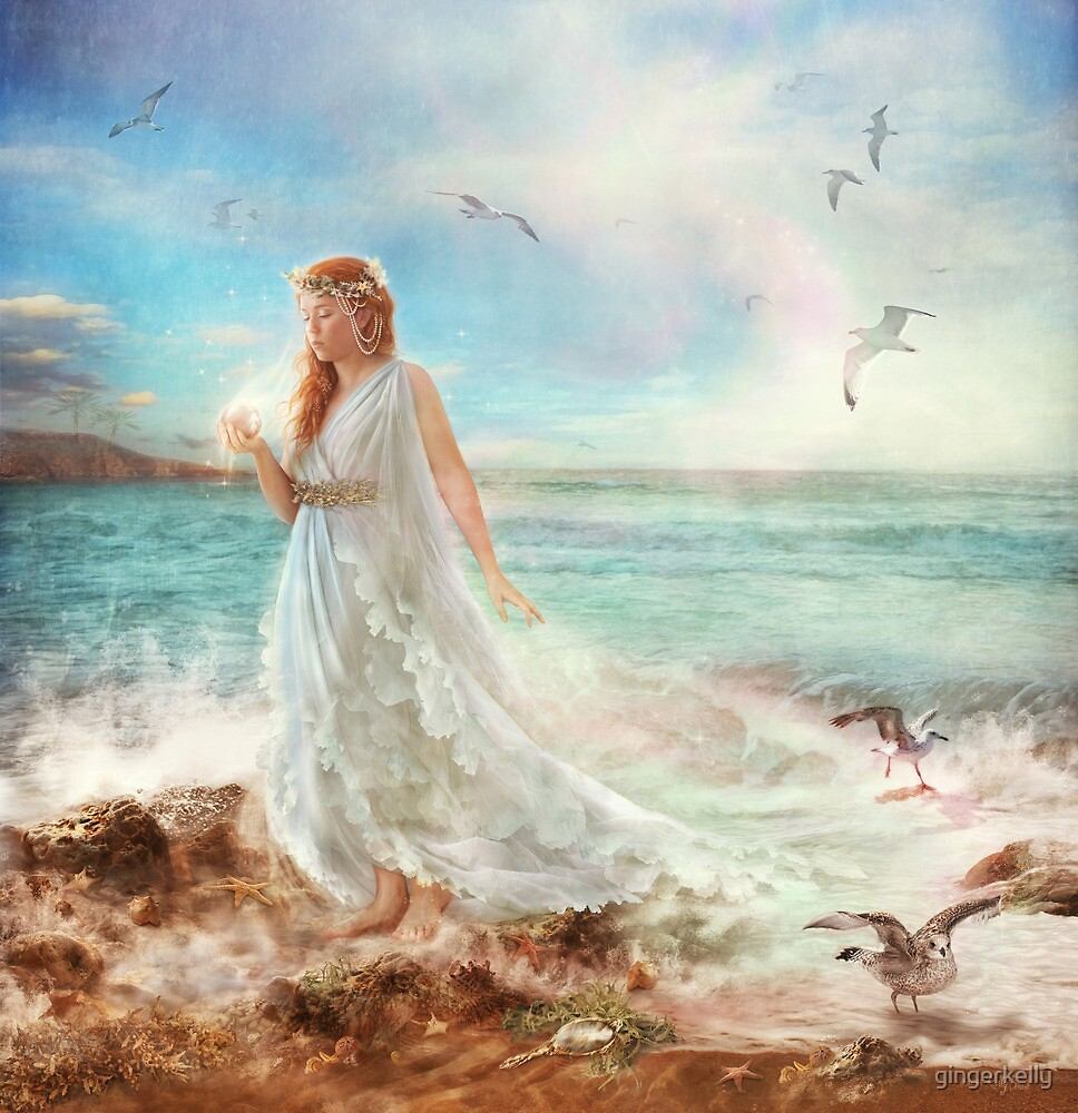 Maiden of Seafoam by gingerkelly