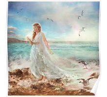 Maiden of Seafoam Poster