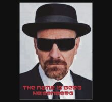 The name is Berg, Heisenberg by Alex Wang