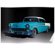 1956 Chevrolet Bel Air Poster