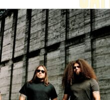 coheed and cambria the color before the sun Tour 2016 3 Sticker