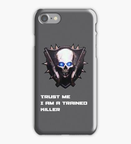 Trained killer iPhone Case/Skin
