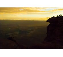 Canyonlands - Luminant Rain Photographic Print
