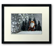 Yeti Crockett - King of the Wild Frontier Framed Print